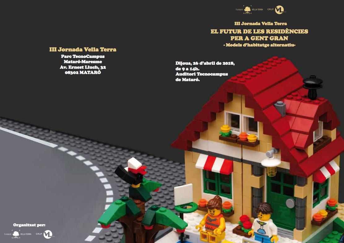 Participació MOVICOMA a les III jornades de la Fundació Vellaterra «El futur de les residències de gent gran. Models d'habitatge alternatiu» (Abril 2018)